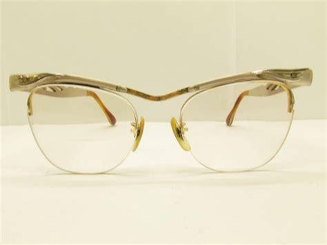 b l 1 10 12k gf eyeglass frames 46 18 140 silver gold