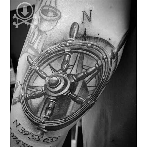 ship steering wheel tattoo best 25 ship wheel ideas on ship wheel