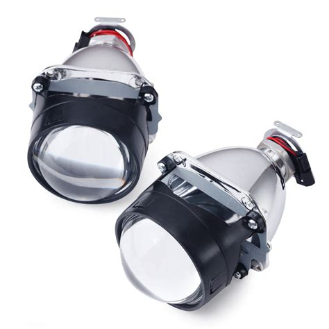 Projector Xenon 1pair 2 5 inches wst bi xenon projector lens led projector