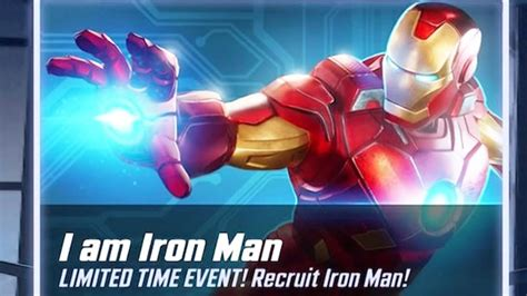 marvel strike force iron man event youtube