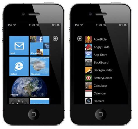 iconoclasm layout guide os7 windows phone 7 theme for ios devices video