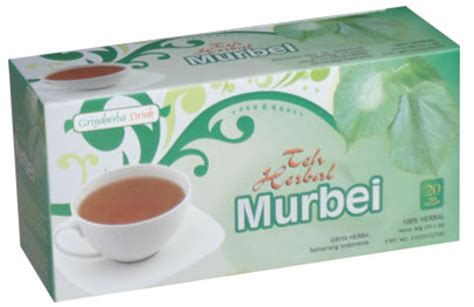 Teh Celup Herbal Daun Murbei teh herbal murbei herbal tanaman murbei sehatherba