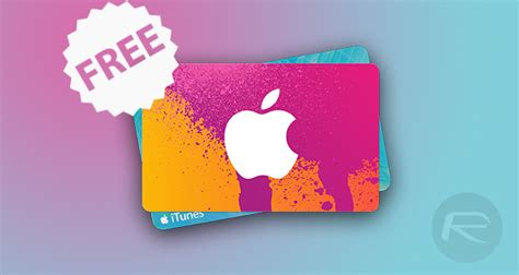 Get Free Gift Cards Online Without Completing Offers - how to get a free 10 itunes gift card redmond pie