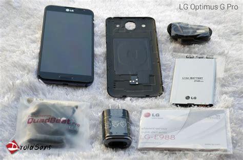Original Lg Wireless Charging Qi Optimus G Pro E985 Black preview แกะกล อง พร ว ว lg optmus g pro droidsans