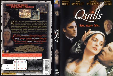 quills film complet jaquette dvd de quills v2 cin 233 ma passion