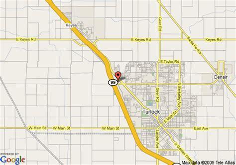 california map highway 99 map of inn express turlock hwy 99 turlock