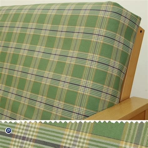 plaid futon cover woodland green plaid futon cover