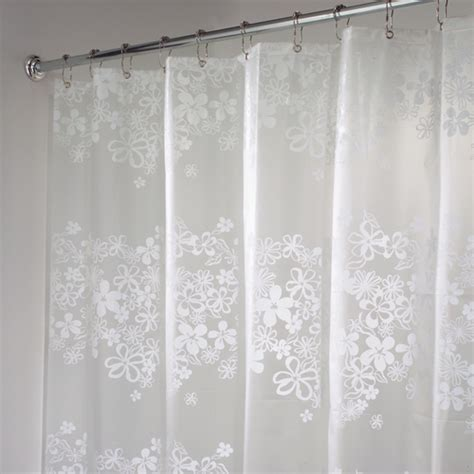 shower curtain plastic eva vinyl shower curtain fiore in shower curtains and rings