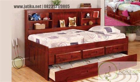 Setelan Panjang Baku Tidur Anam tempat tidur anam minimalis sorong jatika furniture jatika furniture