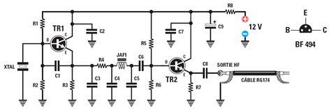 remplacer transistor germanium par silicium r1 47 kω
