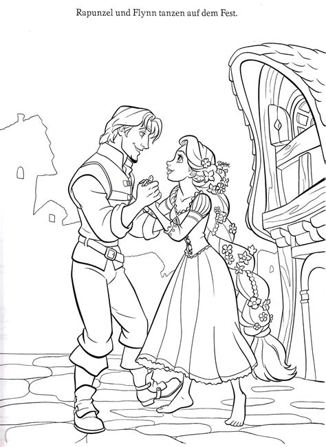free coloring pages of rapunzel tower