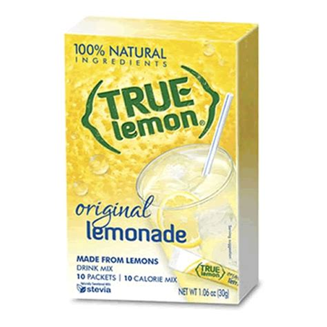 Rite Aid Detox Drink by True Lemon 174 Drink Mix No More Boring Water
