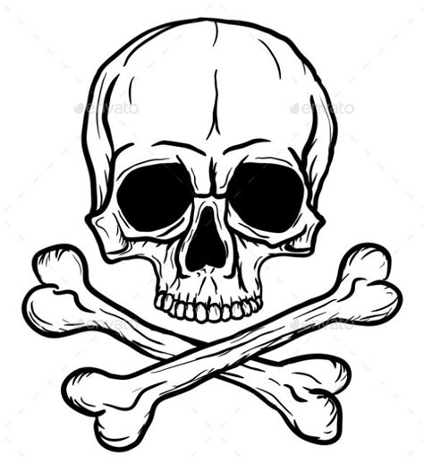 skull and crossbones tattoos 9 best for you images on skulls ideas