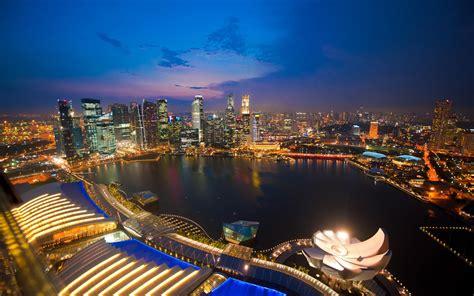 pc themes singapore contact singapore city night wallpaper 723828