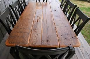 Sealing Old Barn Wood Crawfish Tables For Sale Description Barnwood Tables