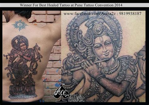 award winning tattoo designs award winning for best healed category ace