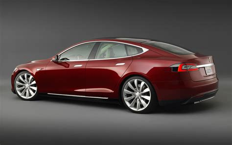2013 Tesla S Price 2013 Tesla Model S Rear Angle Photo 1