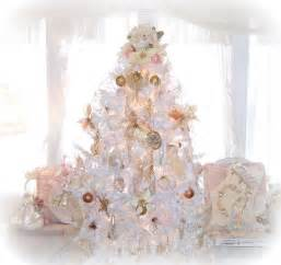 olivia s romantic home shabby chic white christmas tree