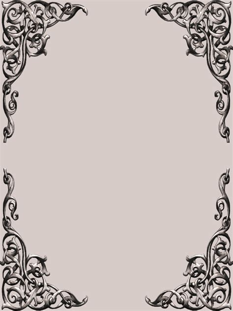 frame pattern ideas th fancy corner scroll frame set png 768 215 1024