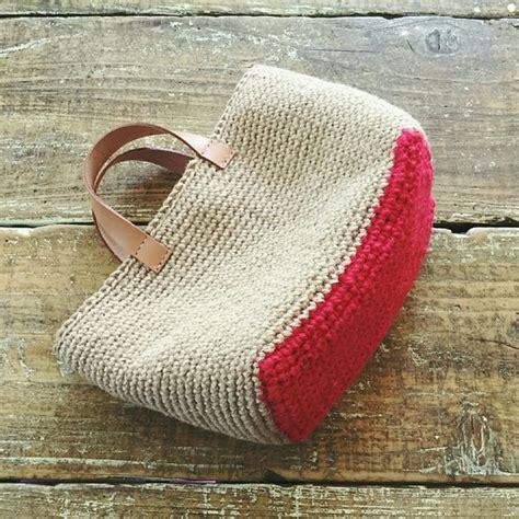 ideas y esquemas para tejer bolsos o carteras el blog de m 225 s de 25 ideas fant 225 sticas sobre bolsos de ganchillo en