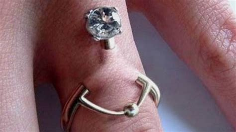 Wardah Ring New You you can now get a piercing instead of a wedding ring ladbible