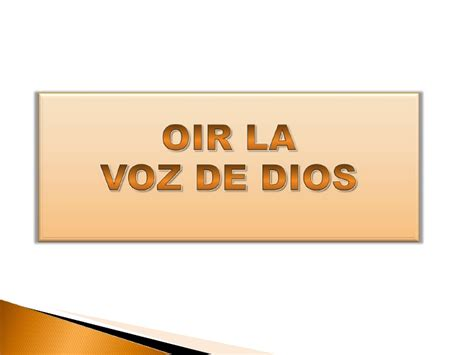 1 la voz de 8420676012 como oir la voz y la voluntad de dios