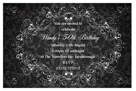 10 elegant birthday invitations ideas wording sles