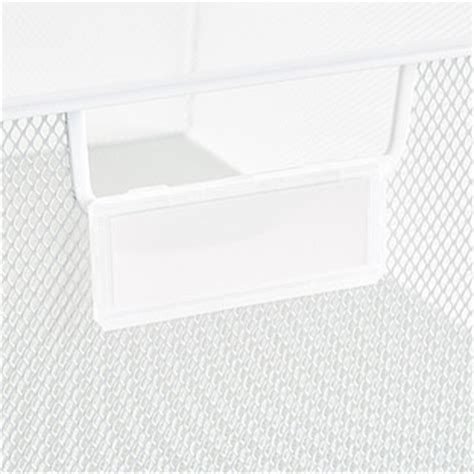 Drawer Label Holders by Elfa Drawer Label Holders The Container Store