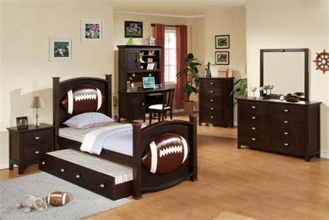 sports themed desk accessories sport theme boy bedroom set with desk homes furniture ideas