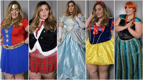 size halloween costumes haul   halloween