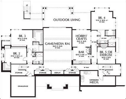 1 level house plans with basement 1 level house plans with basement beautiful e story floor plans with basements new
