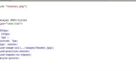 membuat header website dengan html membuat header dengan php