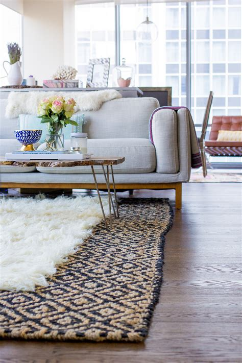 How To Layer Rugs Like A Pro The Fox She Layering Area Rugs