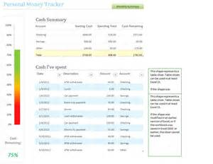 money tracking template personal money tracking template personal money tracking