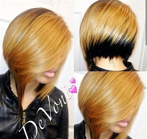 two toned bangs hairstyles for african american 16 stylish short haircuts for african american women