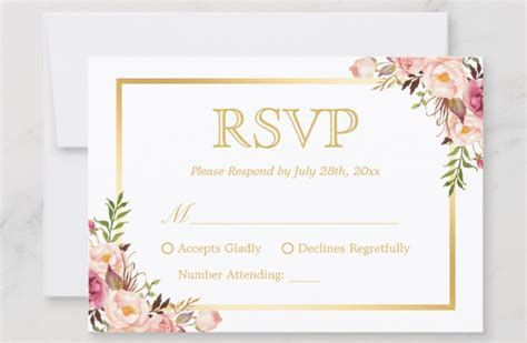 Wedding RSVP Wording Guide 2019   Online, Traditional