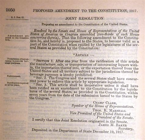 what s section 18 united states constitution and citizenship day 18th and