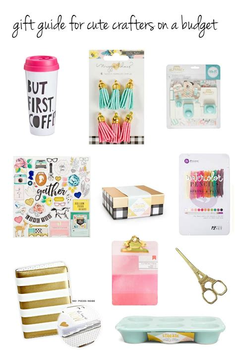 gifts on a budget creative gift guide for crafters on a budget