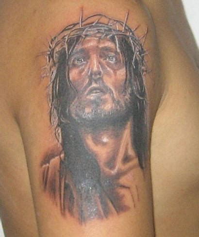 3d jesus tattoo file image