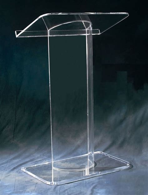 Podium Acrylic 5 school acrylic furniture acrylic podium stylish clear