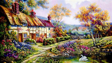 Cottage Wallpapers by Cottage Wallpaper Studio Design Gallery Best Design