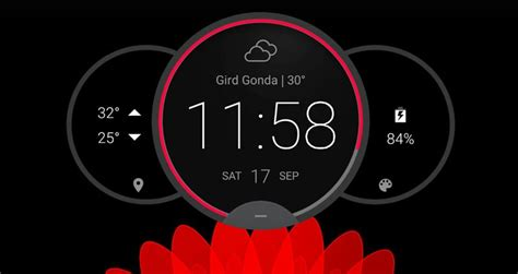 10 best clock widgets for android february 2018