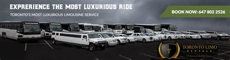 limousine packages rates packages toronto limo rentals