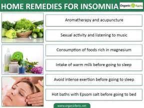 home remedies for insomnia 6 wonderful home remedies for insomnia organic facts