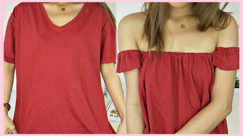 Tshirt Something Out Of diy shoulder top out of t shirt tagalog rhaze