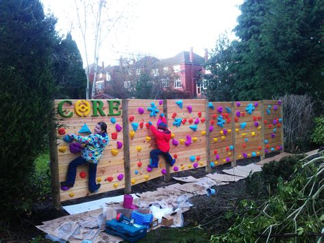 A New Fence For Christmas Wall Climber Garden Climbing Wall