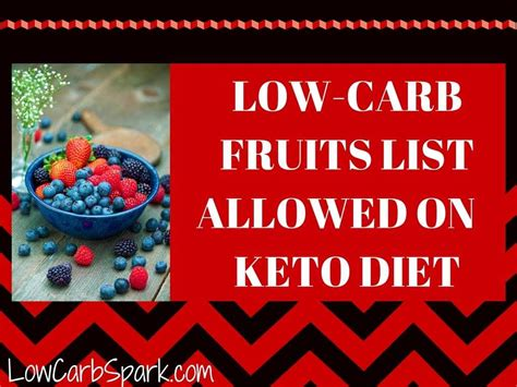 fruit you can eat on keto low carb fruits list allowed on keto diet