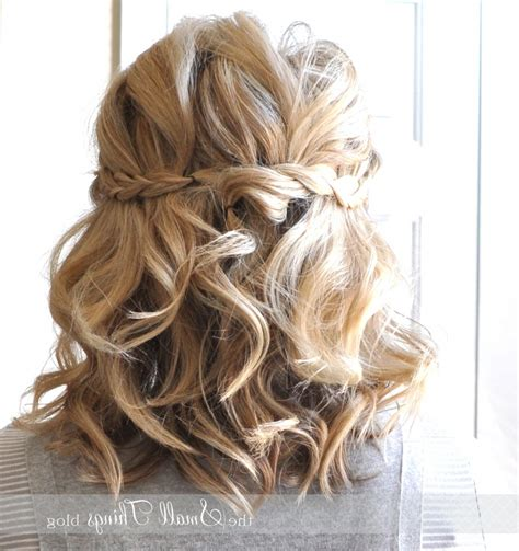 Half Up Half Prom Hairstyles by Half Up Prom Hairstyles For Hair Hairstyles