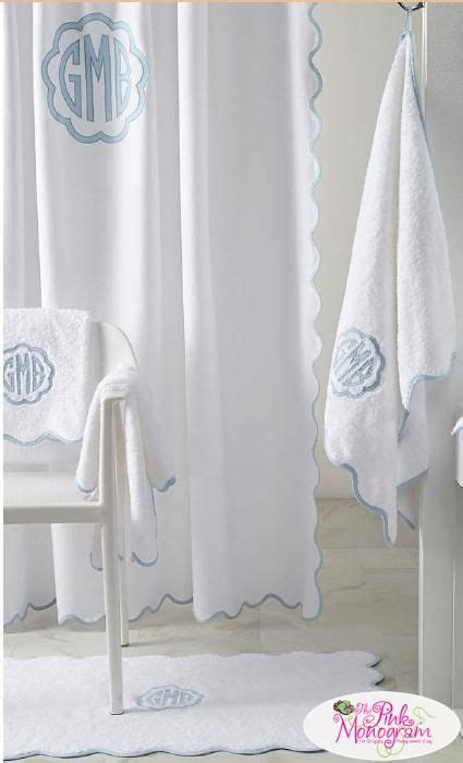 shower curtains with initials best 25 monogram shower curtains ideas on pinterest