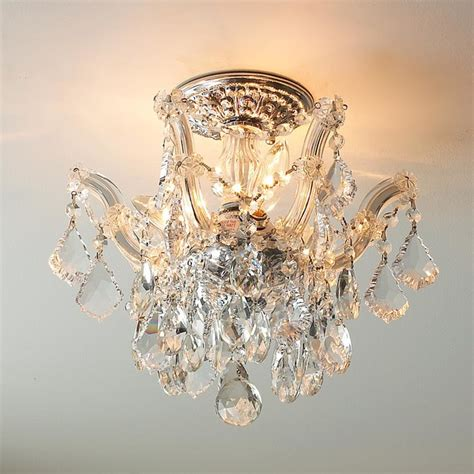 Flush Ceiling Chandeliers by Chateau Semi Flush Ceiling Chandelier Flush Mount